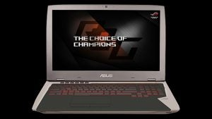 Asus launches powerhouse gaming laptop with Nvidia's 1080 GPU inside
