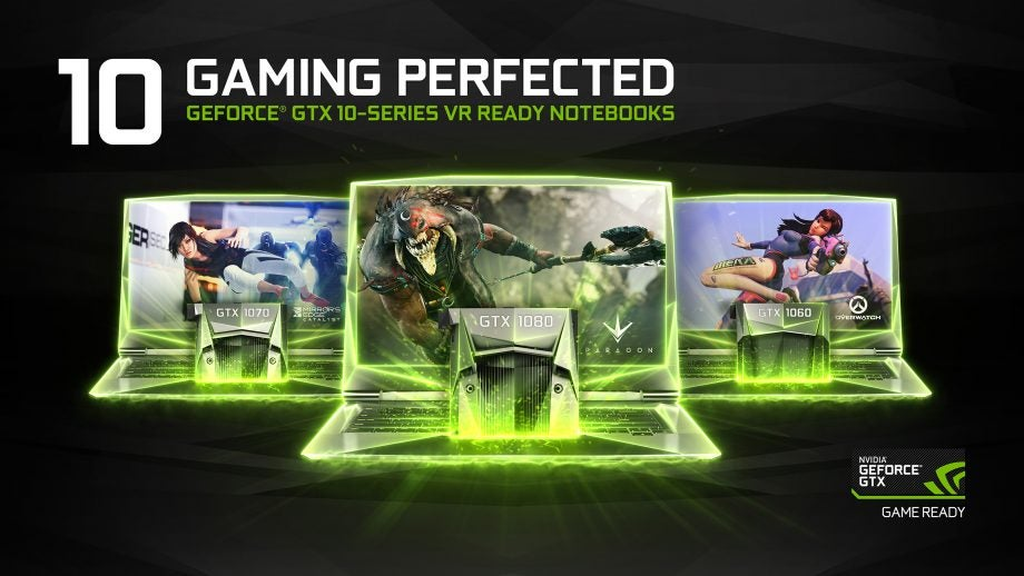 Nvidia Pascal laptops