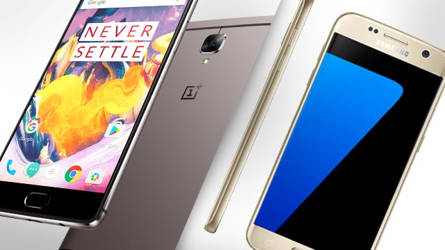 Oneplus 3t vs Galaxy S7