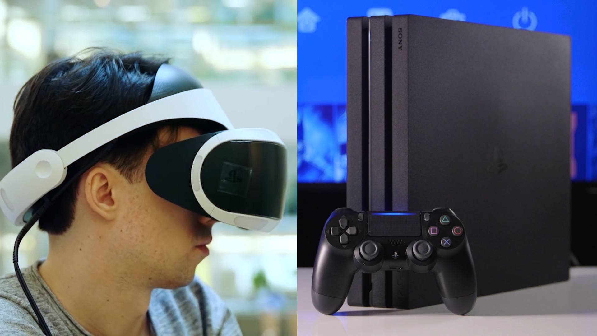 Ps4 Pro Vs Playstation Vr Which Should You Buy Head To