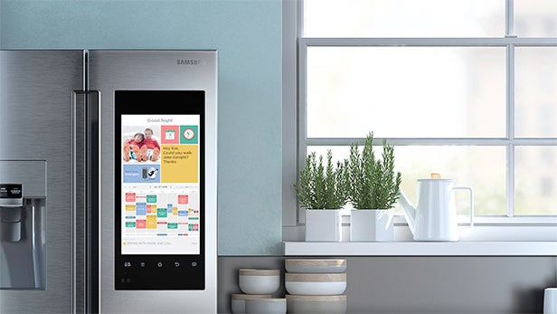 Samsung's crazy Family Hub smart-fridge hits UK – but it costs £4,500 | Trusted Reviews