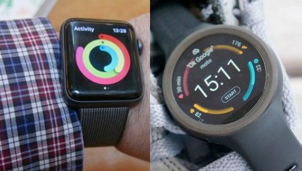 Apple Watch Moto