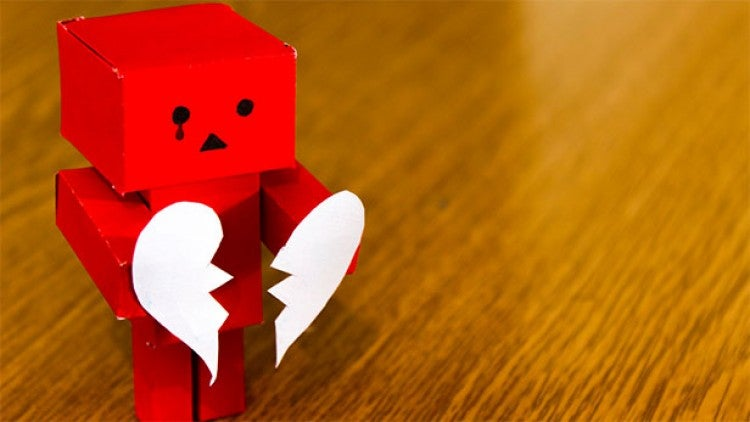 Robot sad