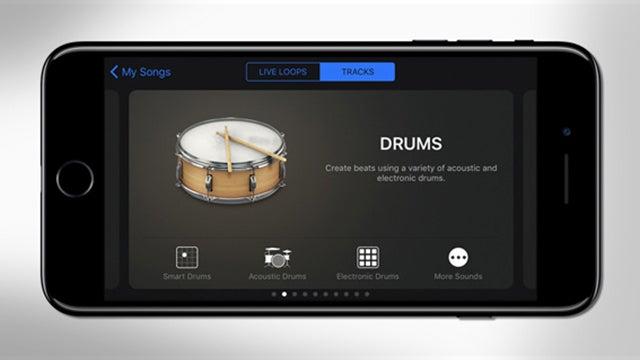 garageband iOS
