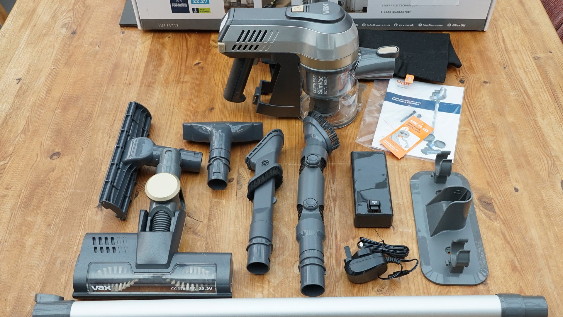 Vax Cordless Slimvac Total Home Review | Trusted Reviews