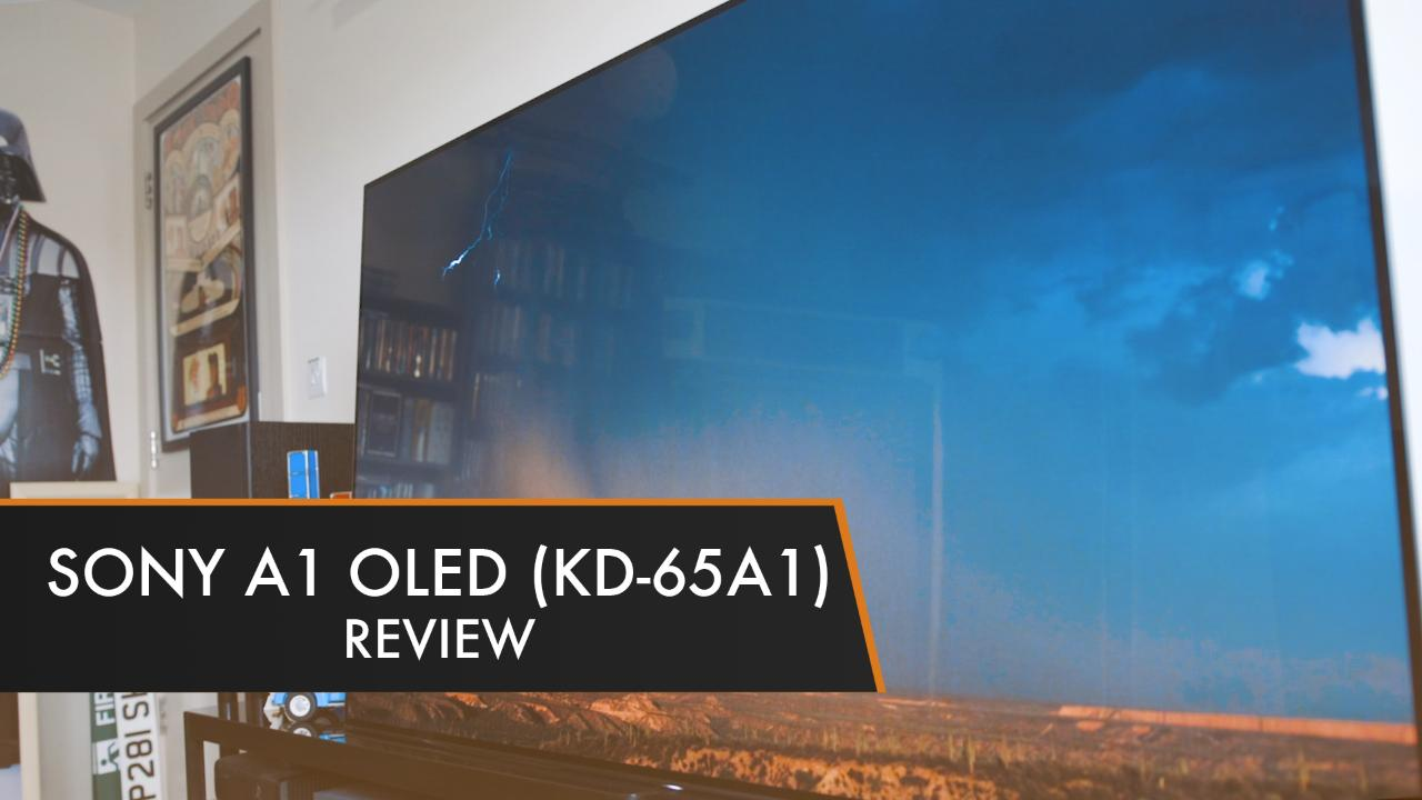 sony oled tv. sony-a1-oled-tv-review sony oled tv