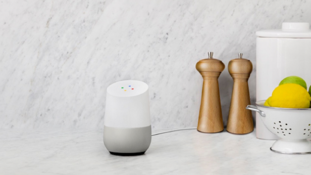'Google Home' from the web at 'http://ksassets.timeincuk.net/wp/uploads/sites/54/2017/02/google-home-1.png'