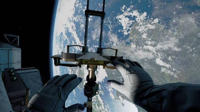 Home: A VR Spacewalk
