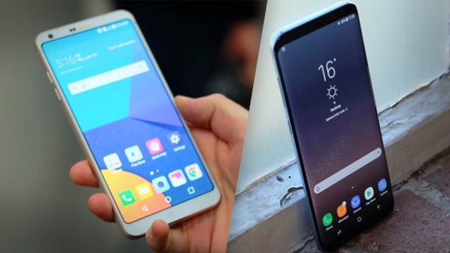 Samsung Galaxy S8 vs LG G6: How do the Android heavyweights