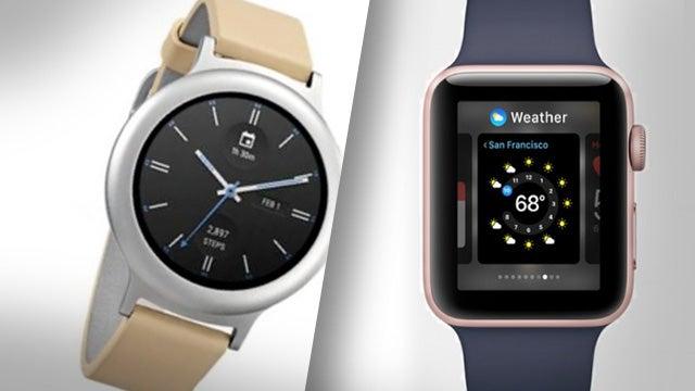 LG Watch Style vs Apple Watch