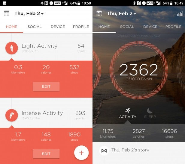 Misfit Phase – App, activity tracking, battery life and