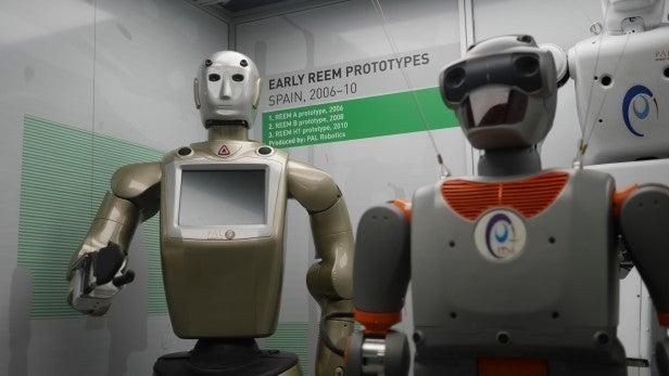 Science Museum Robots 1
