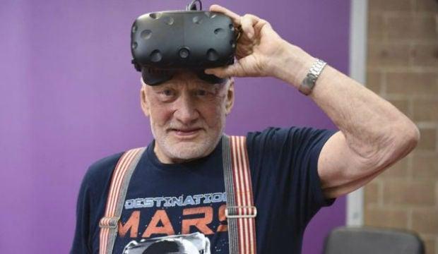 Buzz Aldrin Mars VR