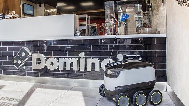 Dominos Pizza Robot 1