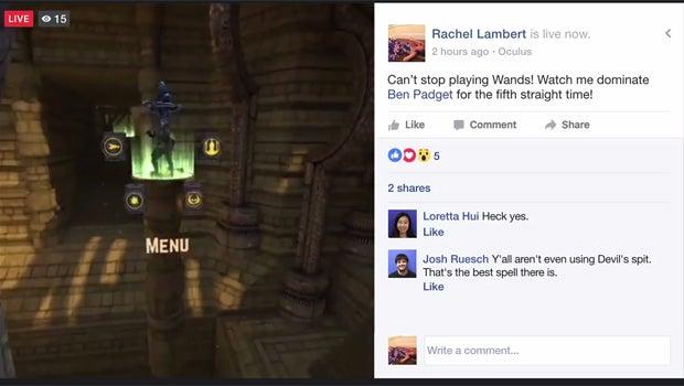 Gear VR Facebook