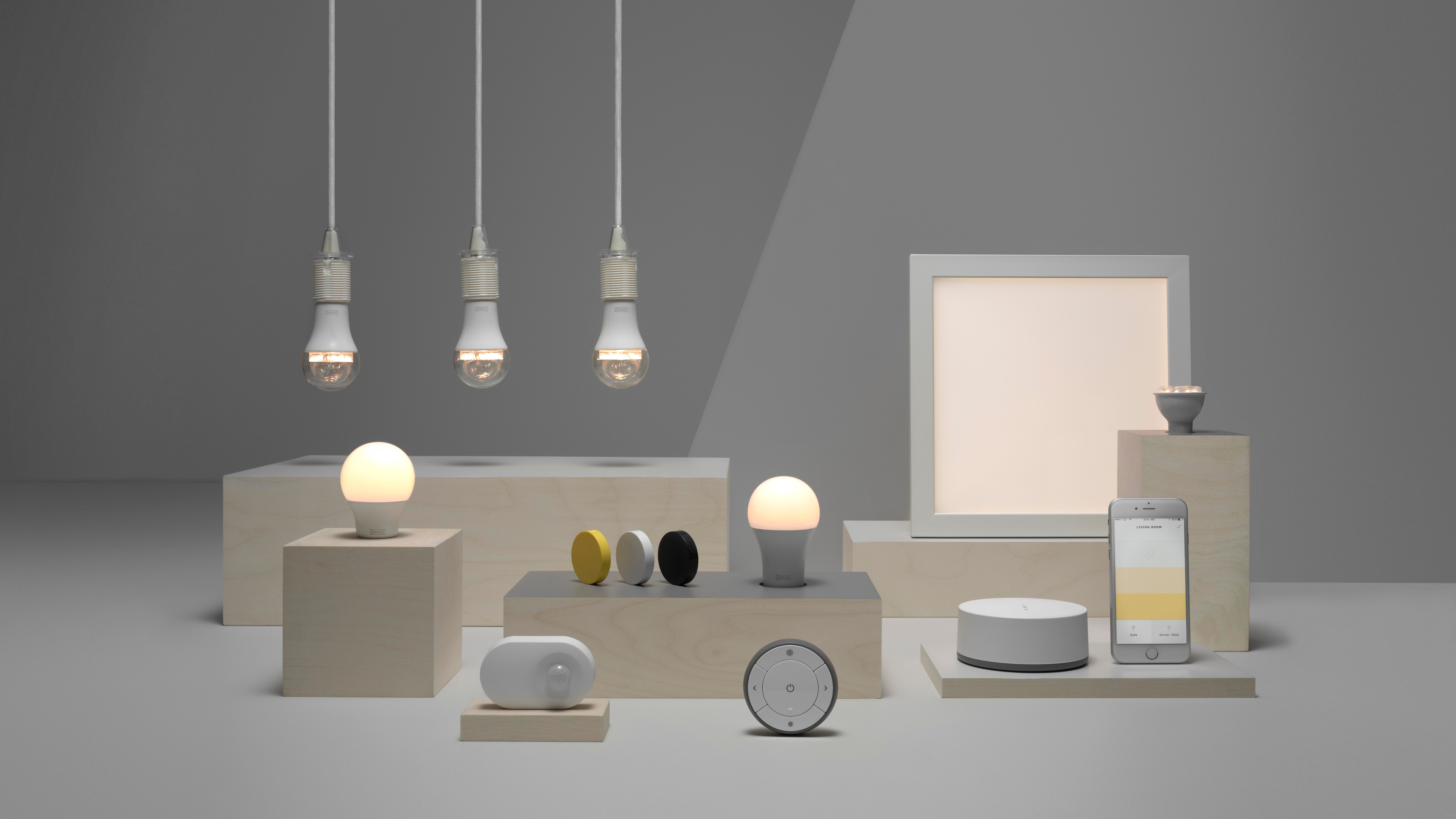 Ikea Is Launching A Smart Lighting Range You Can Control