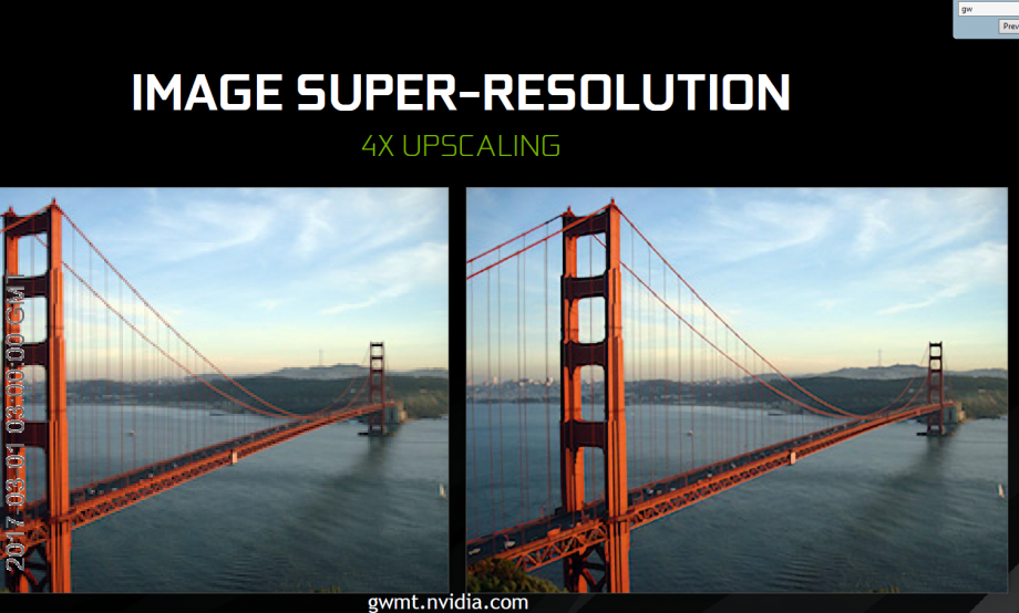 Nvidia's Super Resolution is an AI-powered photo fixing