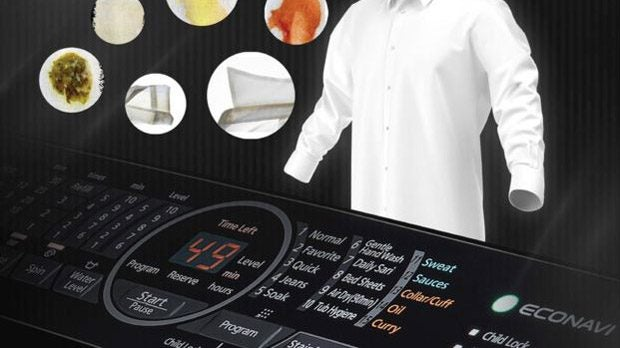 Panasonic S Latest Washing Machine Features A Curry Mode