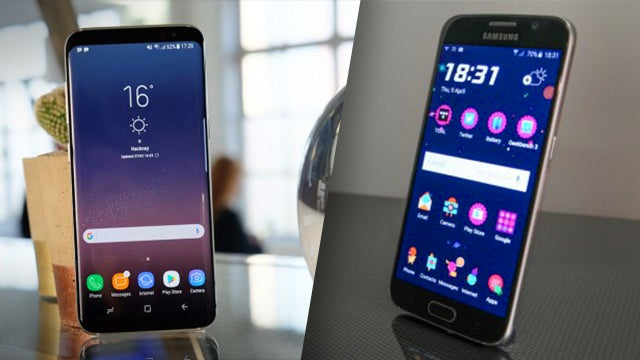 Galaxy S8 vs Galaxy S6: What's the difference? | Trusted Reviews