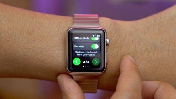 Spotty Apple Watch