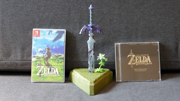 the legend of zelda breath of the wild master edition uk