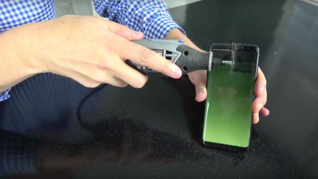 Galaxy S8 saw test