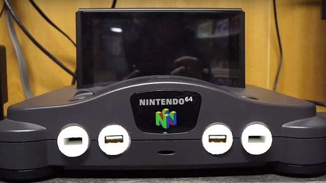 This Genius Hacked An N64 Into A Working Switch Dock