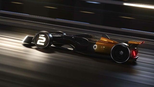 Renault F1 2027 concept