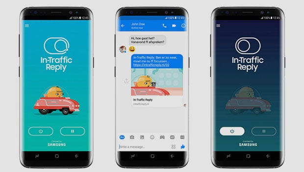 Samsung driving app