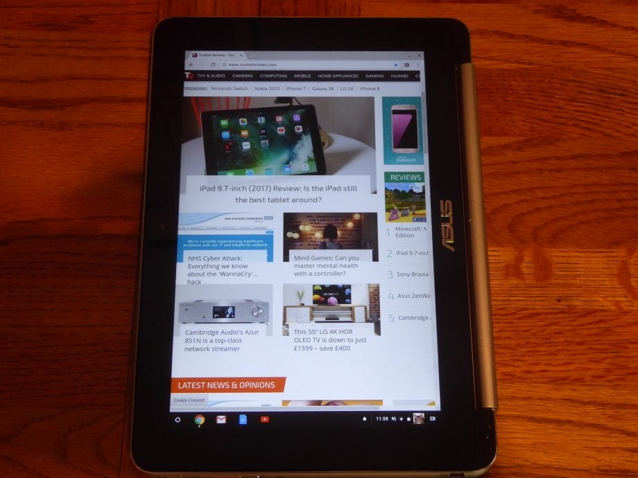 Asus Chromebook Flip C100PA Review | Trusted Reviews