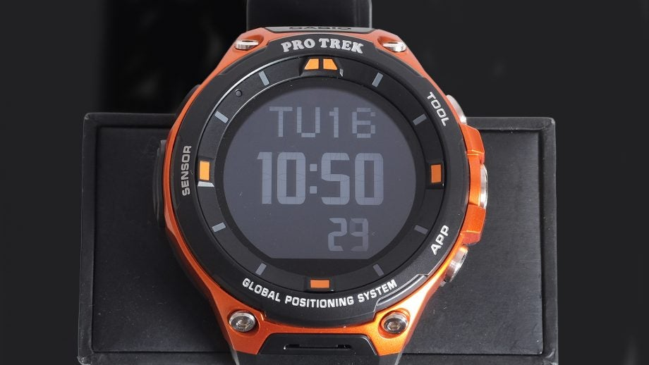 Casio Pro Trek Smart Wsd F20 Review Trusted Reviews