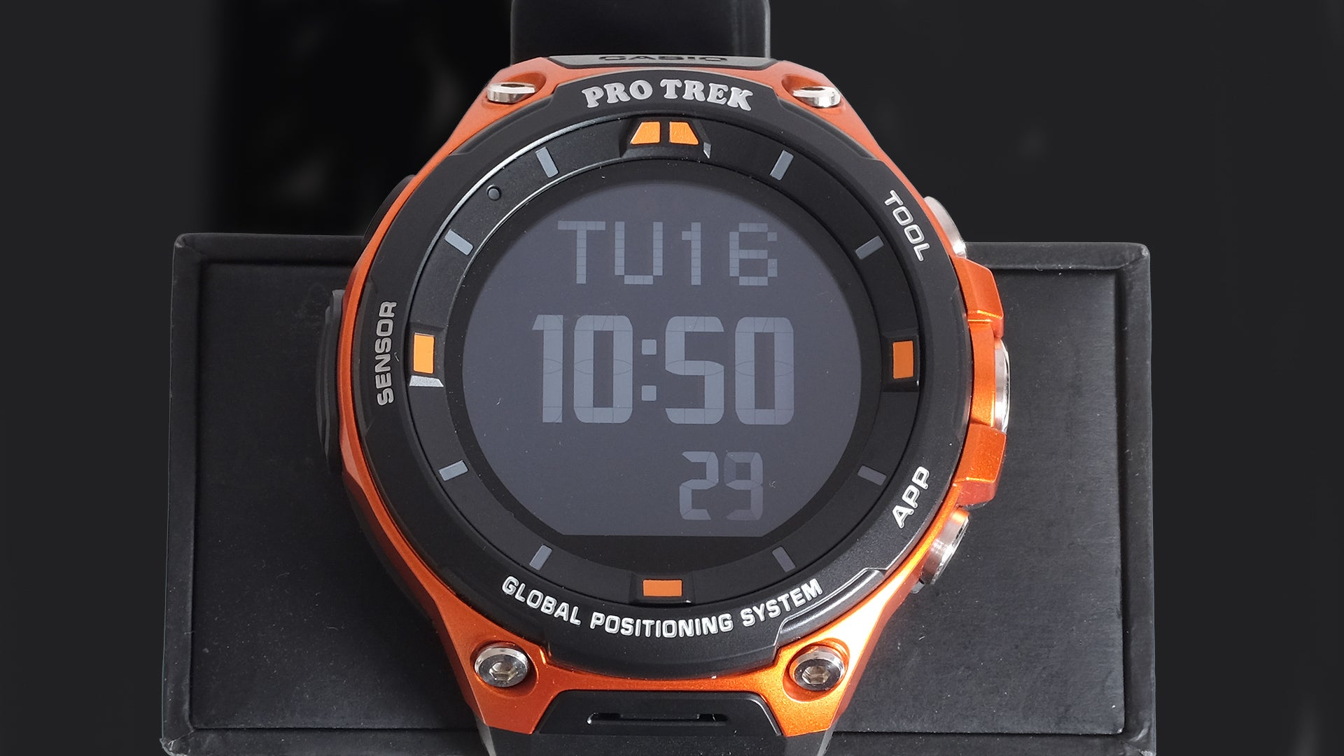 Casio pro trek smart wsd f20 review trusted reviews for Mountain watches