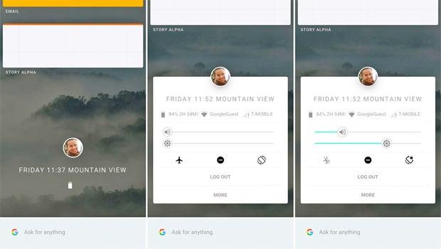 Google Fuchsia new UI