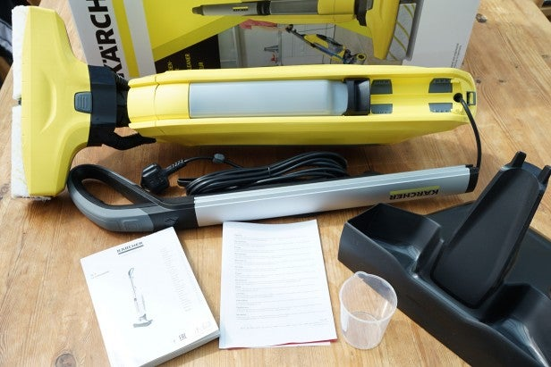 Karcher FC Hard Floor Cleaner Review Trusted Reviews - Hard floor mopping machine
