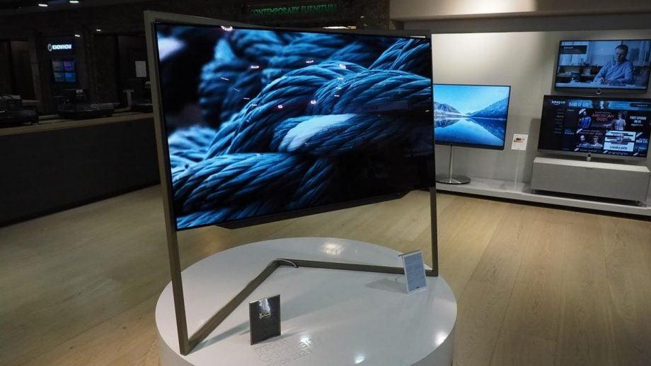 loewe bild 9 review trusted reviews. Black Bedroom Furniture Sets. Home Design Ideas