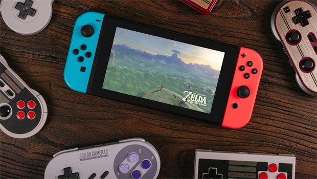 Nintendo Switch 8bitdo
