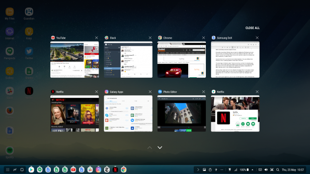 Samsung Dex screenshots 3