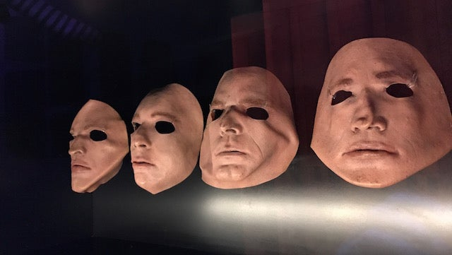 The Iconic Faceless Masks From Wall Era