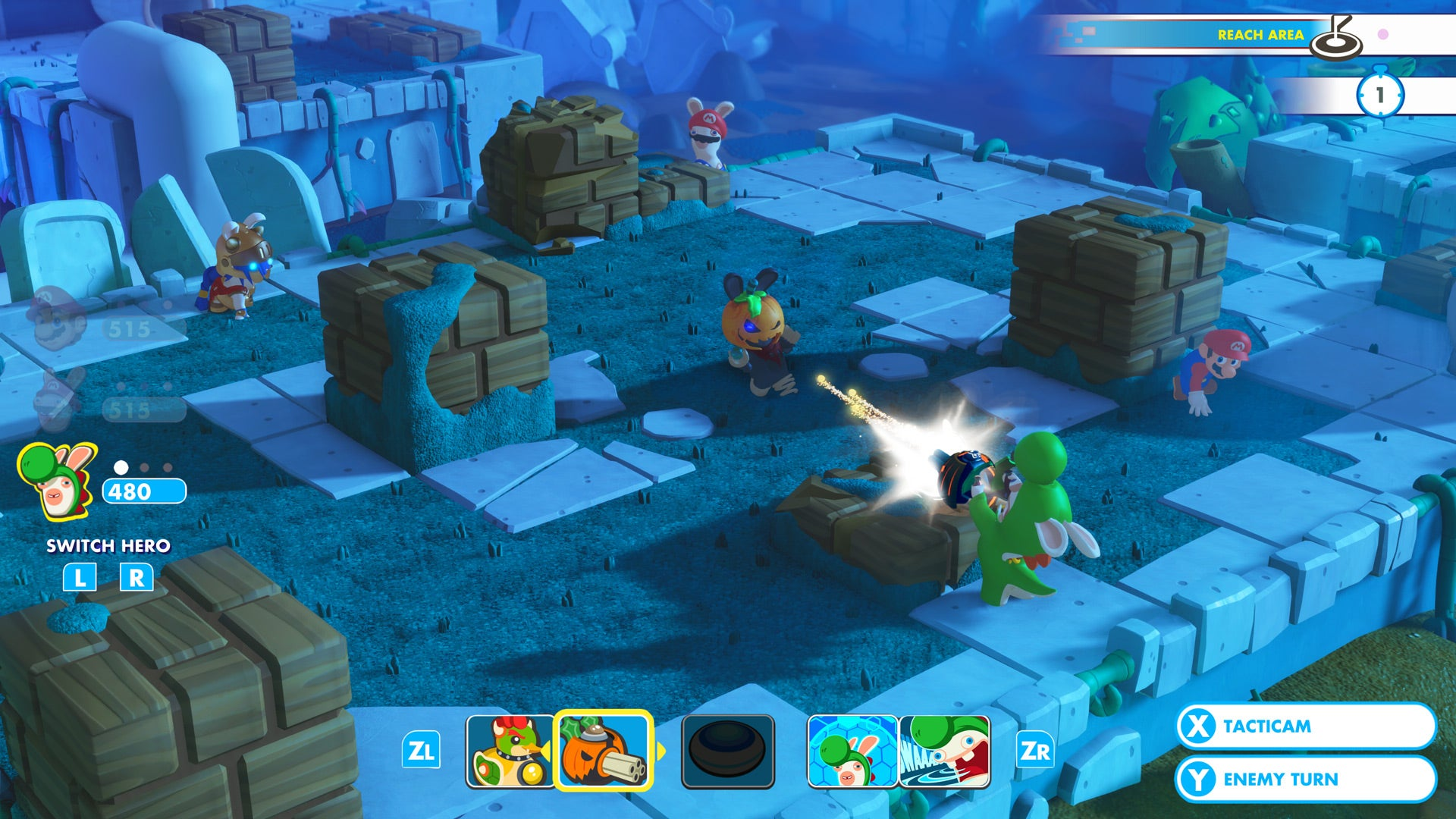 Mario + Rabbids Kingdom Battle review   Trusted Reviews