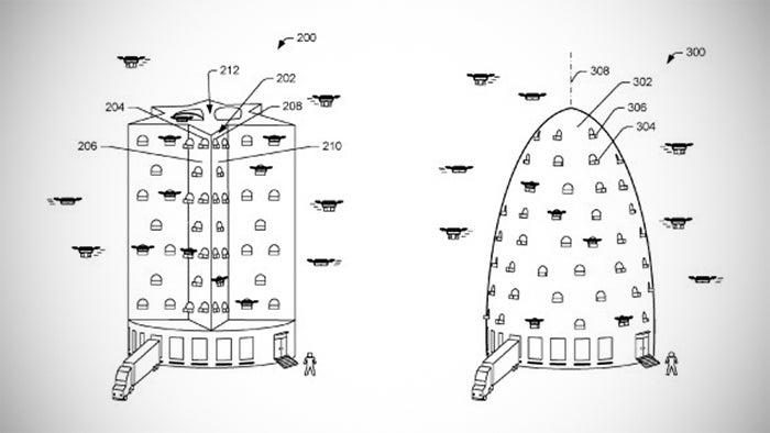 Amazon drone beehive