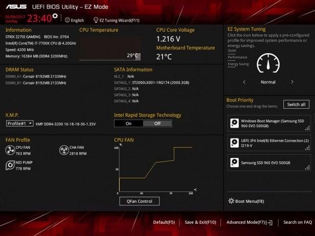 Asus motherboard BIOS