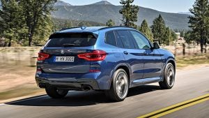 bmw x3 2018 rear. as far raw performance goes, not much has changed in the 2018 model, save for an improved eight-speed transmission and bmw\u0027s xdrive intelligent all-wheel bmw x3 rear