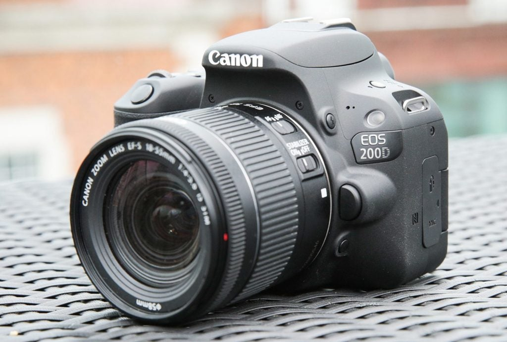 Canon EOS 200D one of the best DSLR cameras for beginners