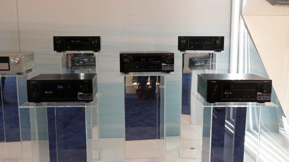 Denon and Marantz's 2017 AV receivers all have HEOS multiroom skills