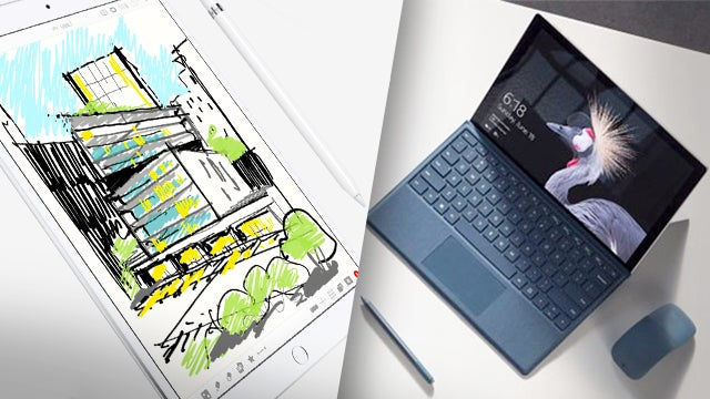 Ipad Pro 10 5 Vs New Surface Pro 2017 Which Is Best For