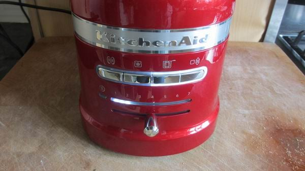 toasters toaster control countertop kitchenaid red bread aid appliances carousel kitchen automatic lift