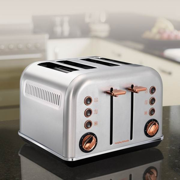 Morphy Richards Rose Gold Four Slice Toaster Review ...
