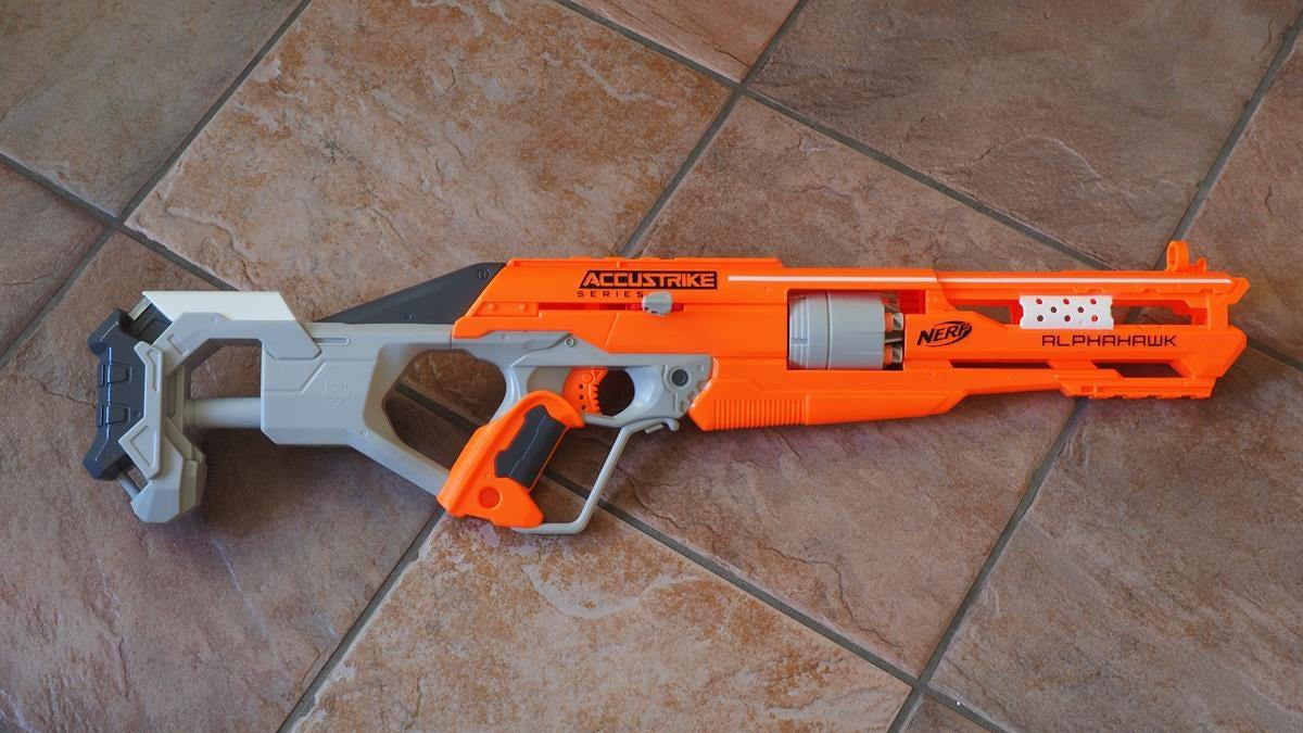Nerf Elite Accustrike Alphahawk Hasbro