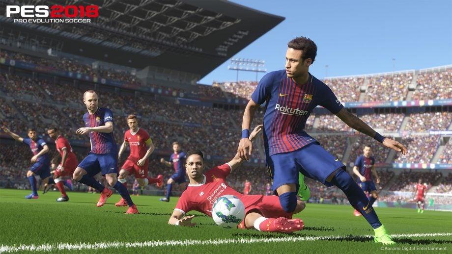 pro evolution soccer 2018 pc key download