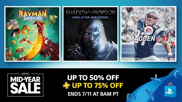 PS4 Mid Year Sale